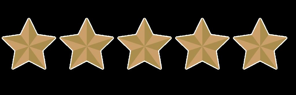 5 sterren beoordeling voor benb nummer5